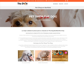 Pagina Web - Happy Puppy Pet Shop